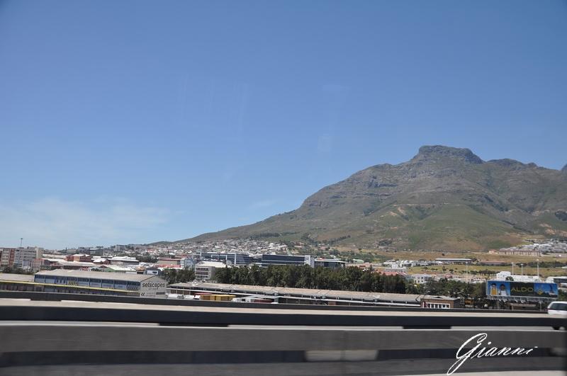 Cape Town dall'autostrada