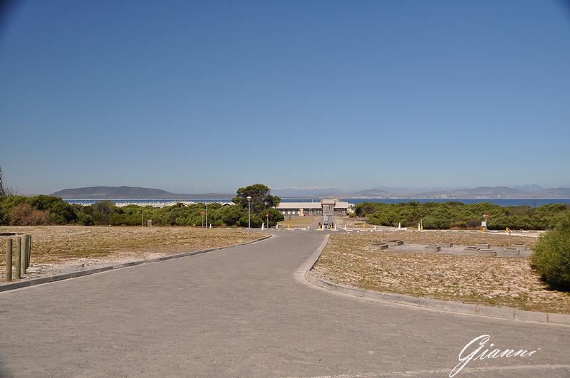 Robben Island - Il viale di ingresso