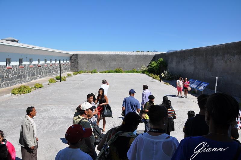 Robben Island - Il cortile interno