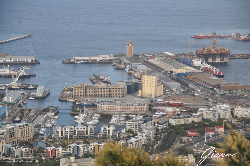 Il waterfront da Signal Hill
