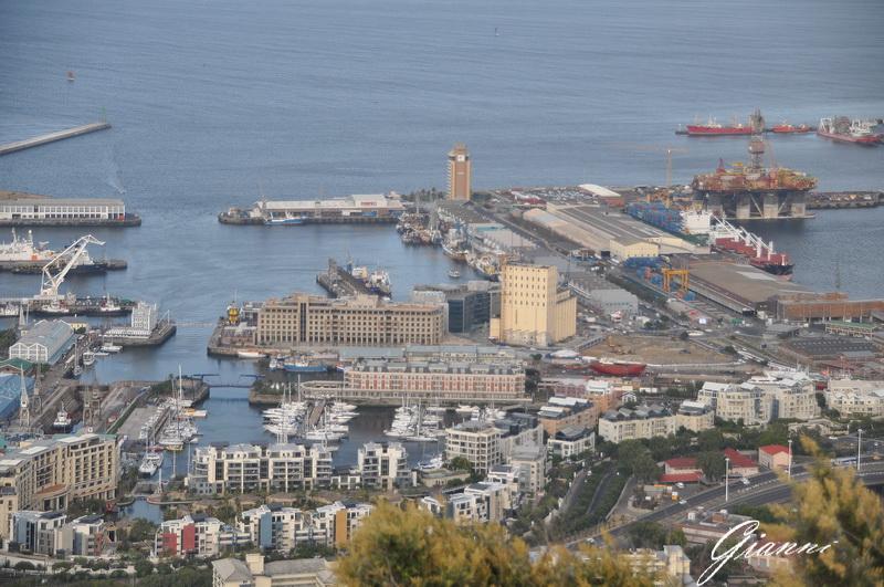 Il waterfront da Signal Hill