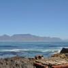 Cape Town e la Table Mountain viste dal mare