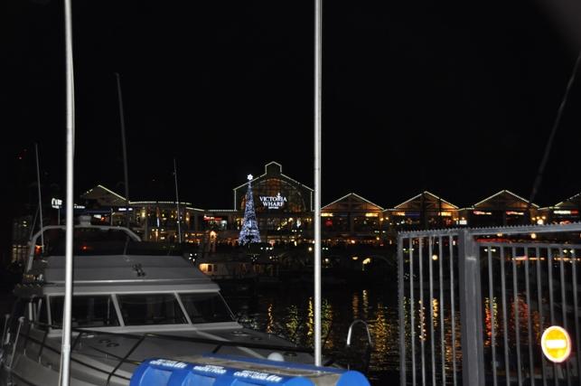 Il Waterfront di notte