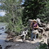 Cowgirl al Jenny Lake