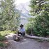 Cowboy al Jenny Lake