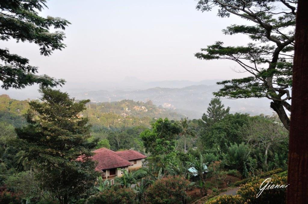 Kandy dall'alto