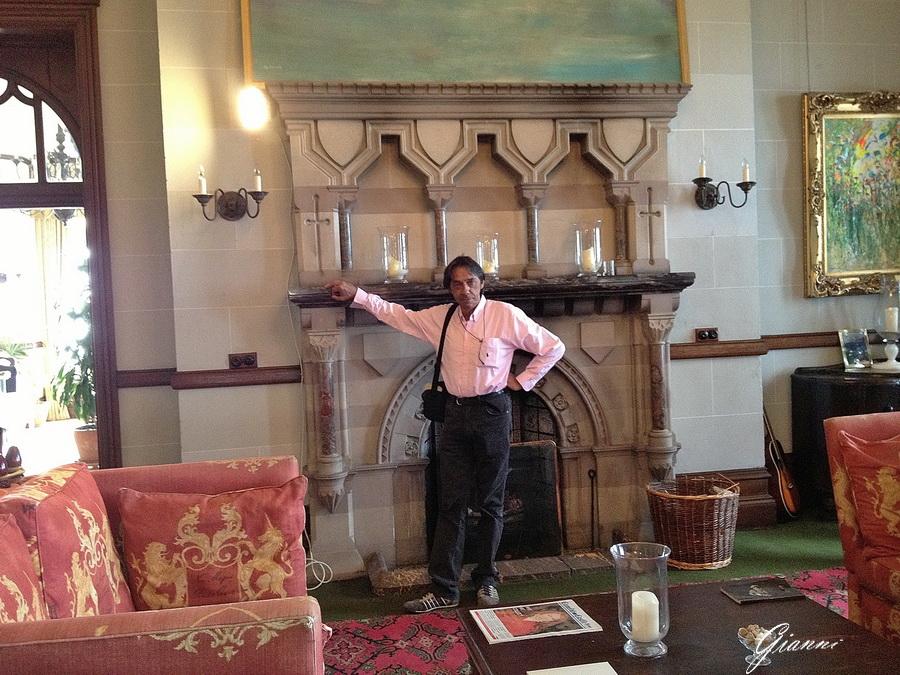 Camelot Castle Hotel - Il caminetto