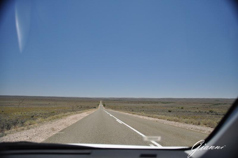 La strada verso Beaufort West