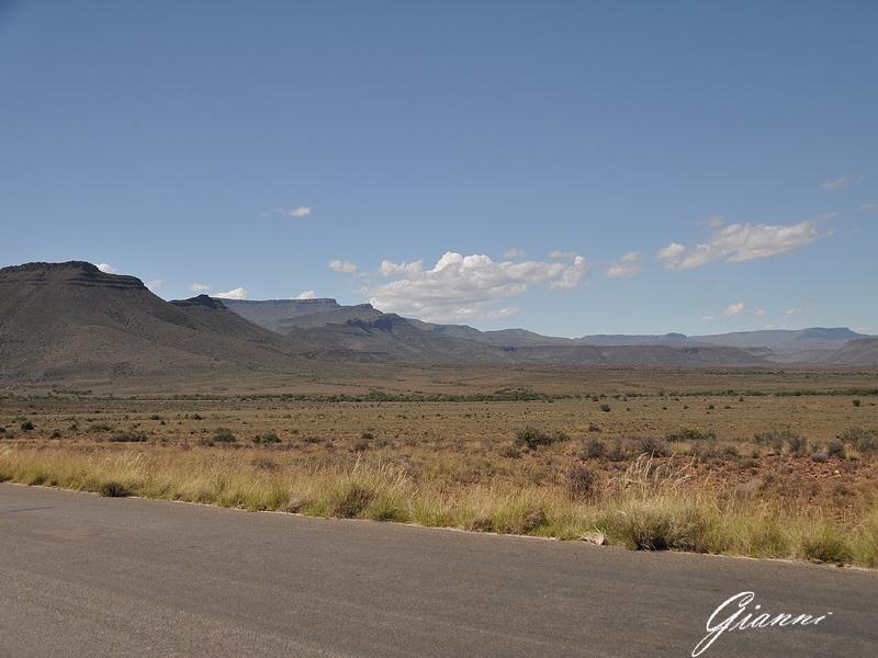 Paesaggio nel Grande Karoo