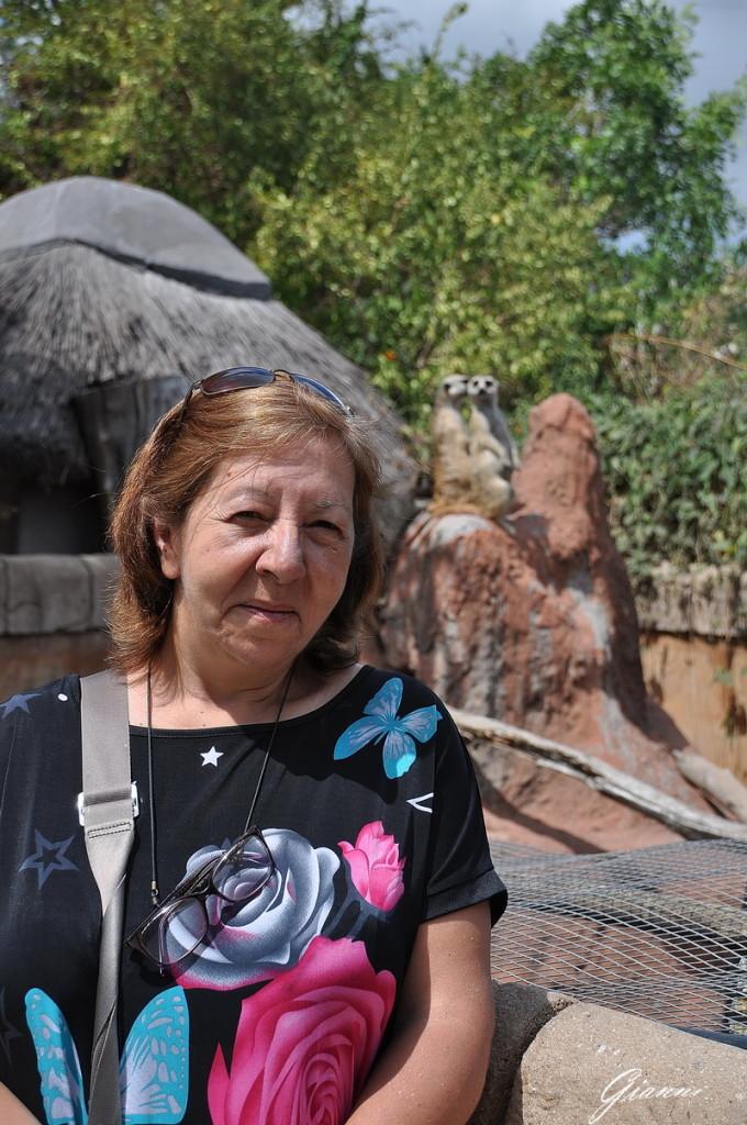 Foto con i Lemuri