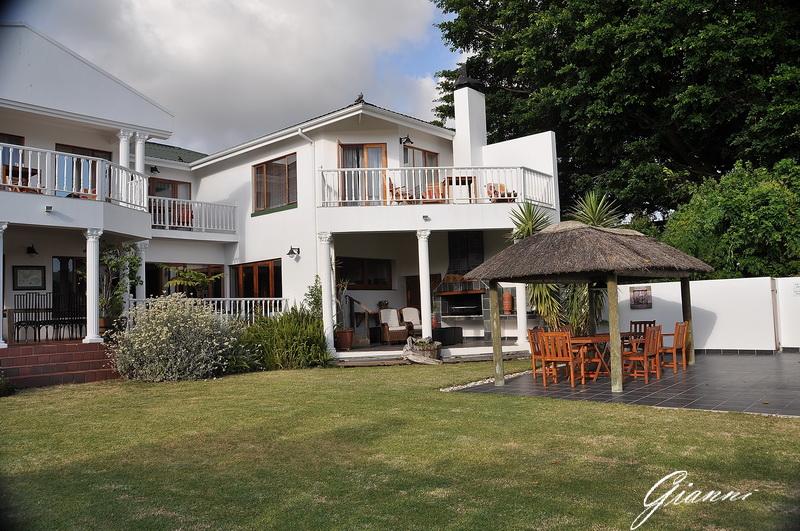 Il giardino del Waterfront Lodge