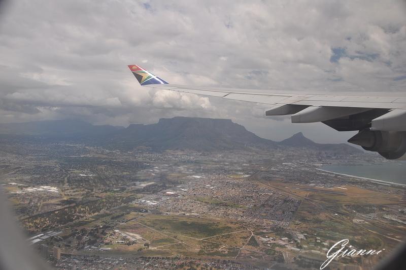 Cape Town dall'aereo
