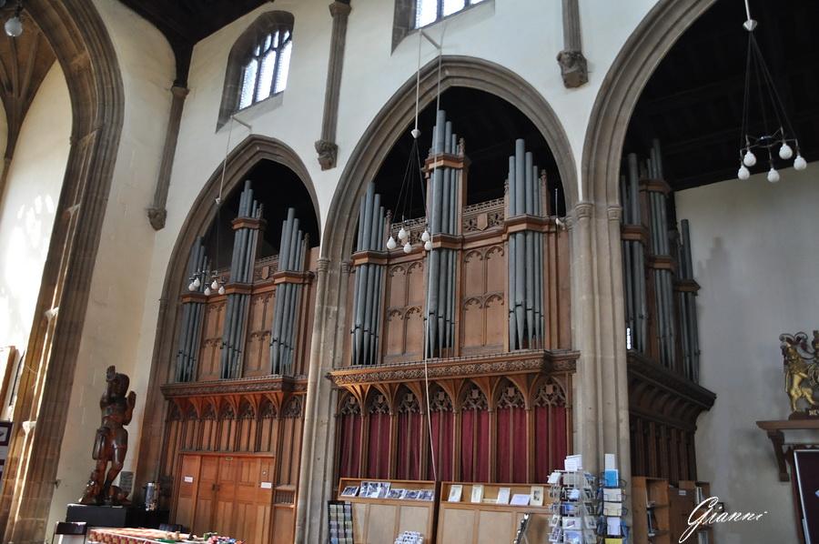 Cornovaglia - La nuova abbazia di Glastonbury