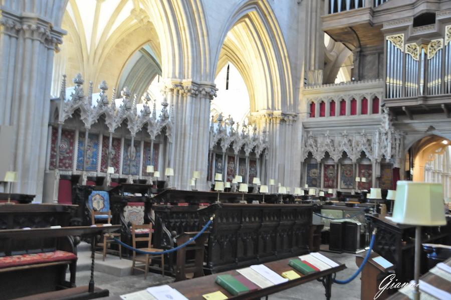 Cornovaglia - Cattedrale di Wells
