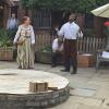 Stratford upon Avon - La casa di Shakespeare - Teatrino all'aperto