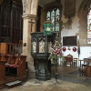 Stratford upon Avon - Holy Trinity church - Il pulpito