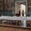 Il salone da pranzo