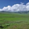 Nuvole sulle distese verdi