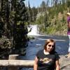 Una delle mille cascate del parco