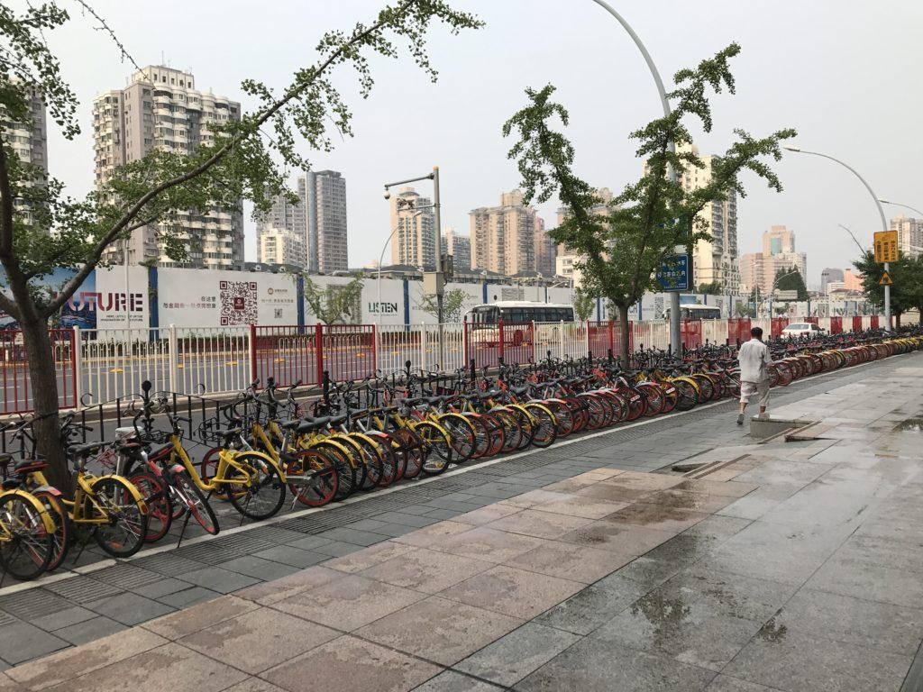 Biciclette a Shangai