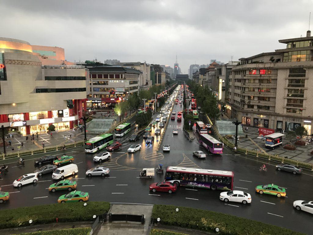 Traffico a Xi'an