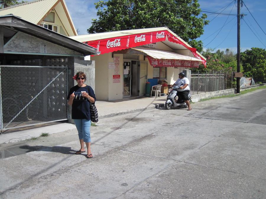 Minimarket a Tikehau