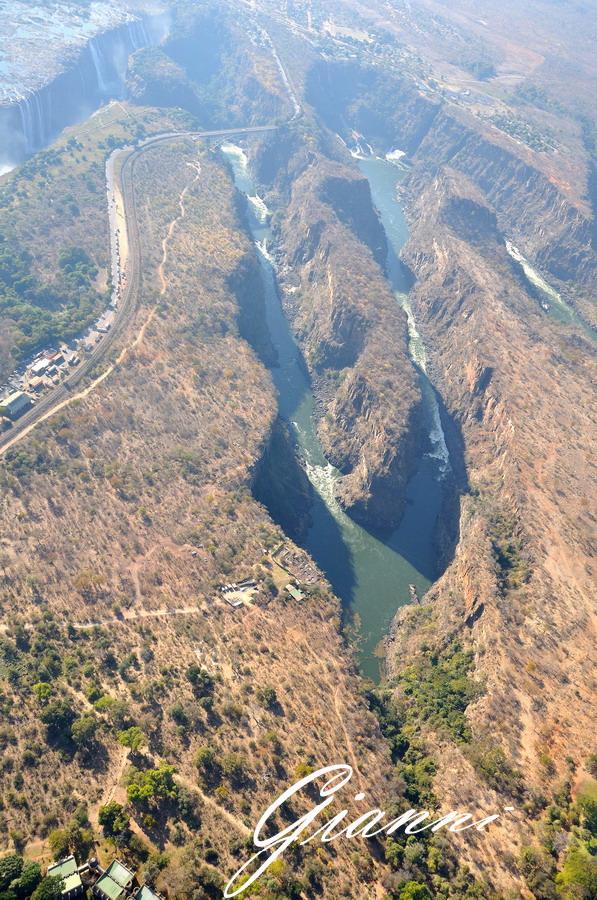Cascate Vittoria - Il canyon
