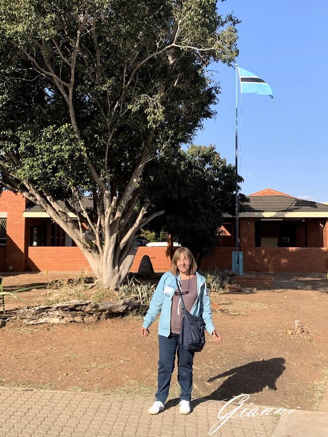 Confine Botswana - Sudafrica