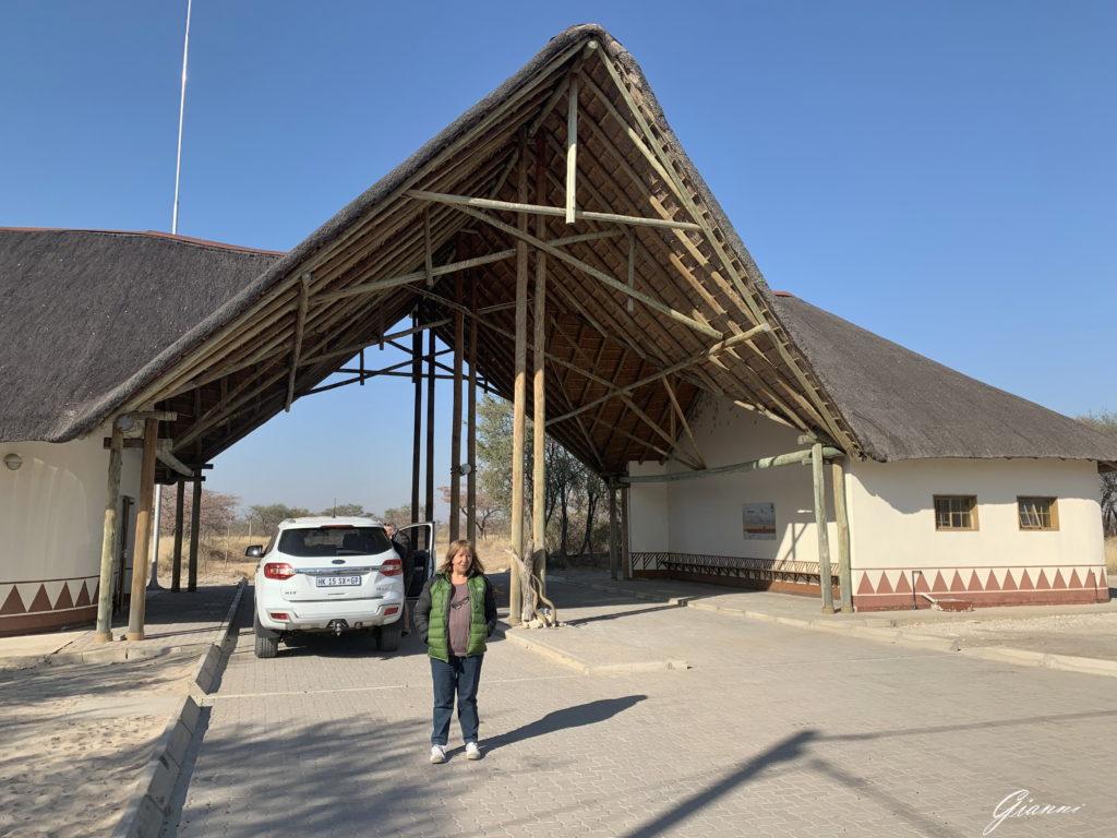 Makgadikgadi National Park - Il gate d'ingresso