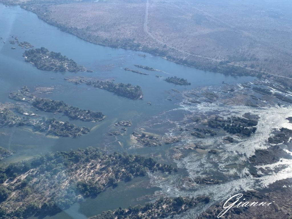 Cascate lato Zambia