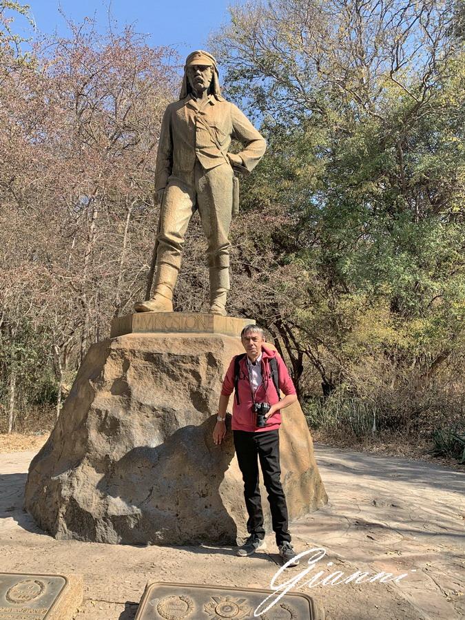 La statua di Livingstone