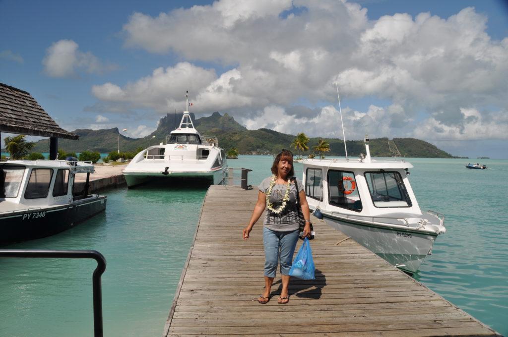 Arrivo a Bora Bora