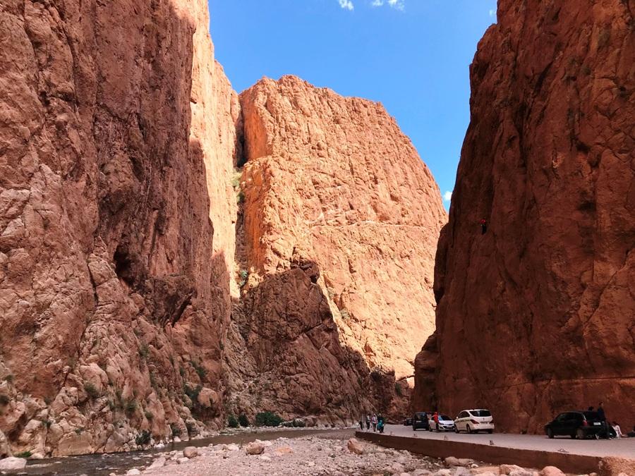 Gole del Tondra . Viaggio in Marocco