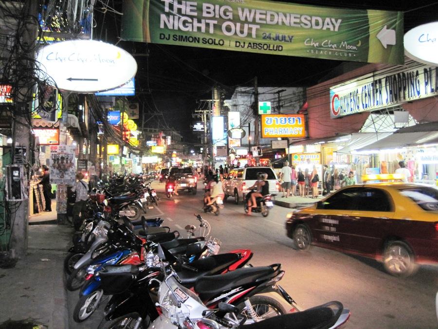 Koh Samui main street