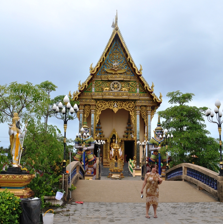 tempio a Koh Samui