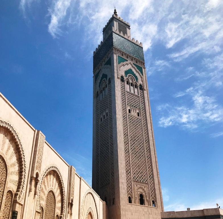 Minareto della Moschea di Casablanca