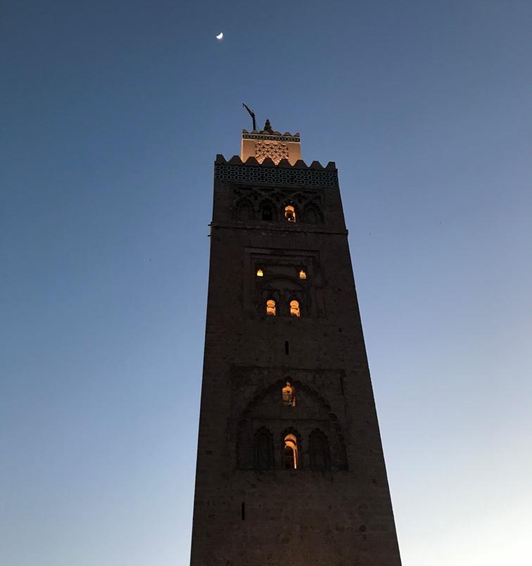 Marrakech - Minareto della Koutoubia