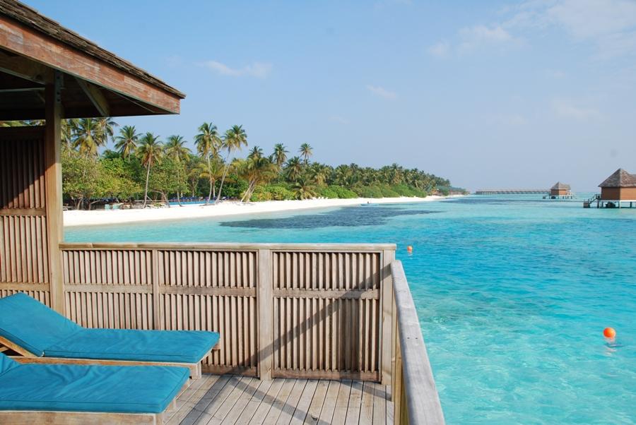 Overwater bungalow al Meeru island Resort