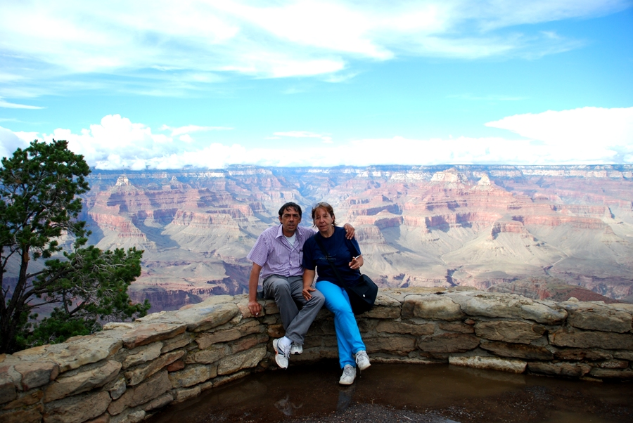Panorama sul Canyon