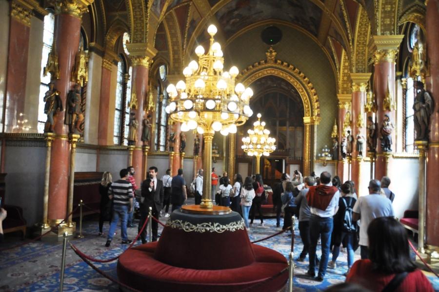 Parlamento di Budapest interno