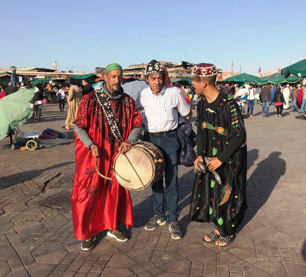 Marrakech -  Piazza Jemaa el-Fna