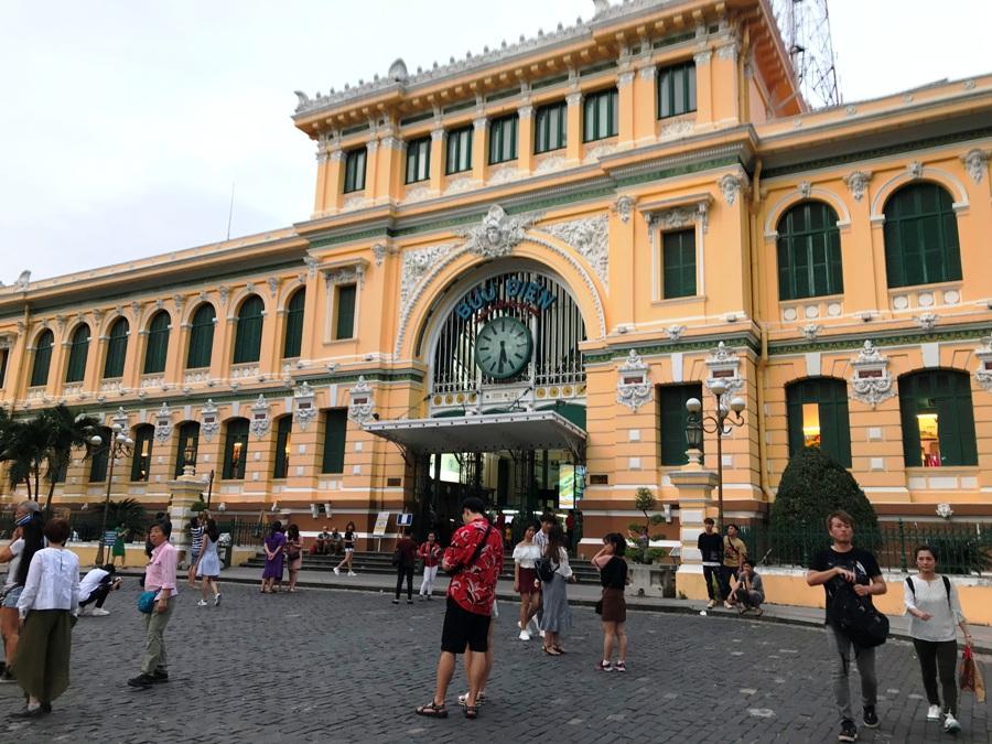 Posta centrale a Saigon