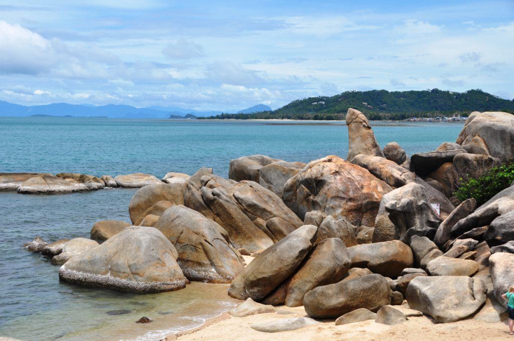 Roccia di Granpa a Koh Samui