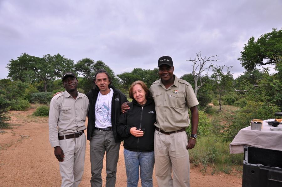 Con le guide Kruger National Park