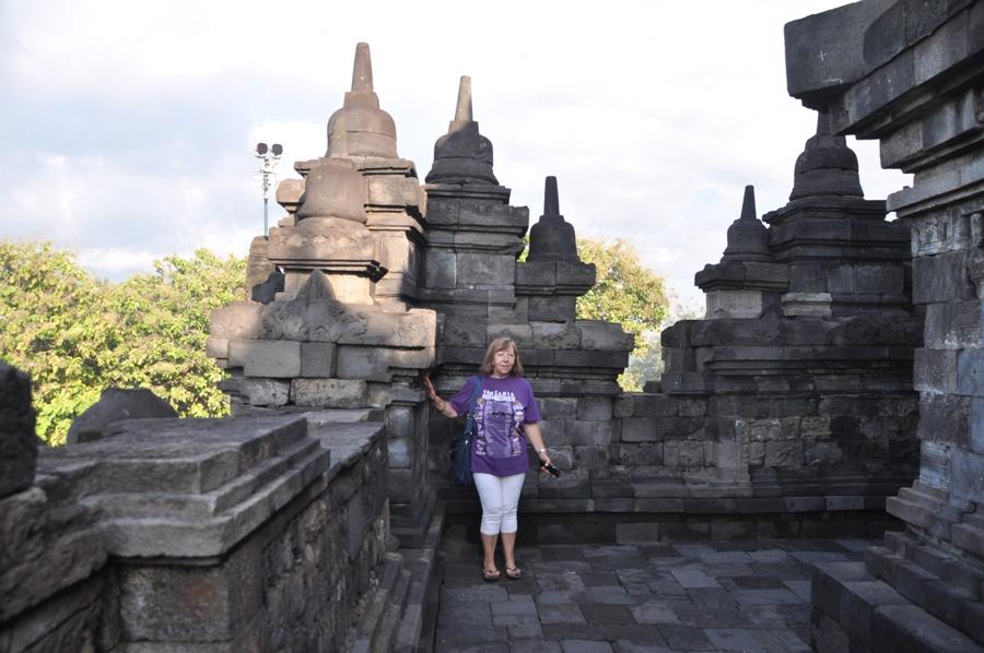 Gironzolando per Borobudur