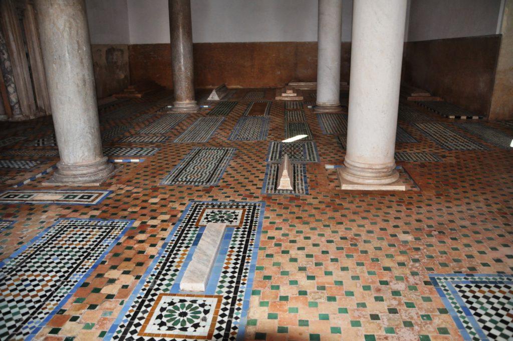 Marrakech - Tombe Saadiane
