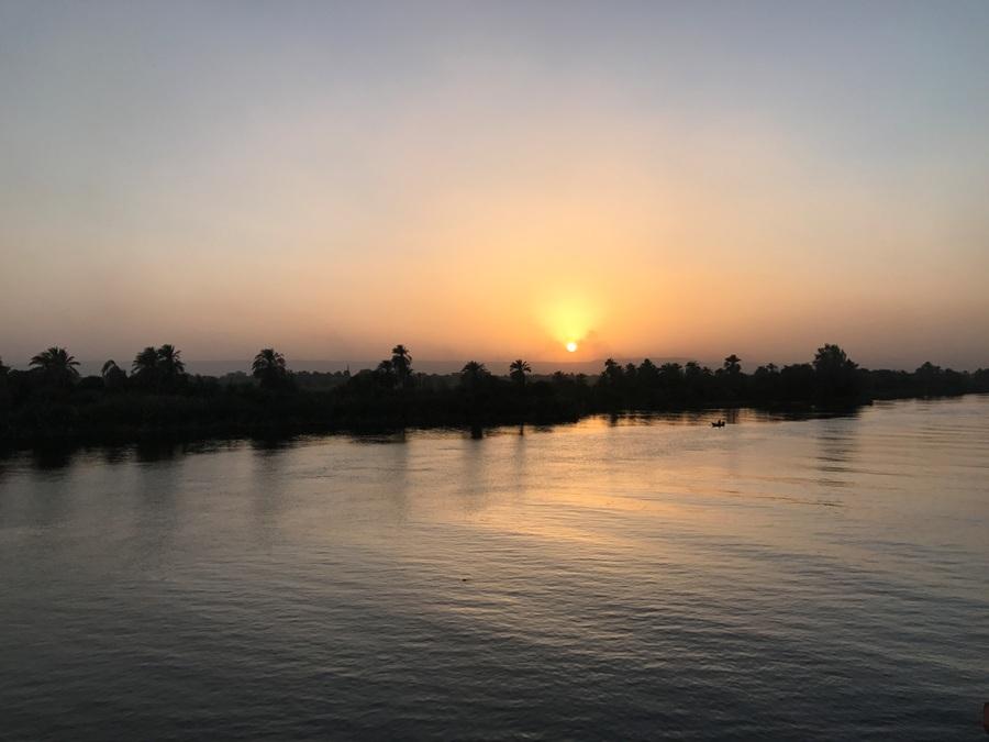 Tramonto sul Nilo