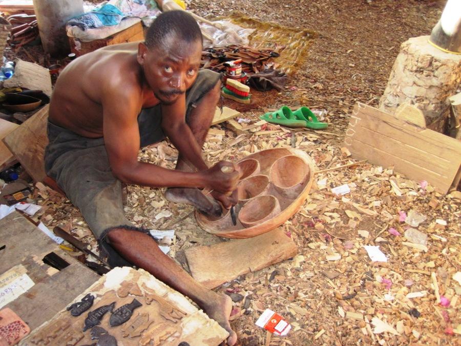 Fabbrica del legno a Malindi