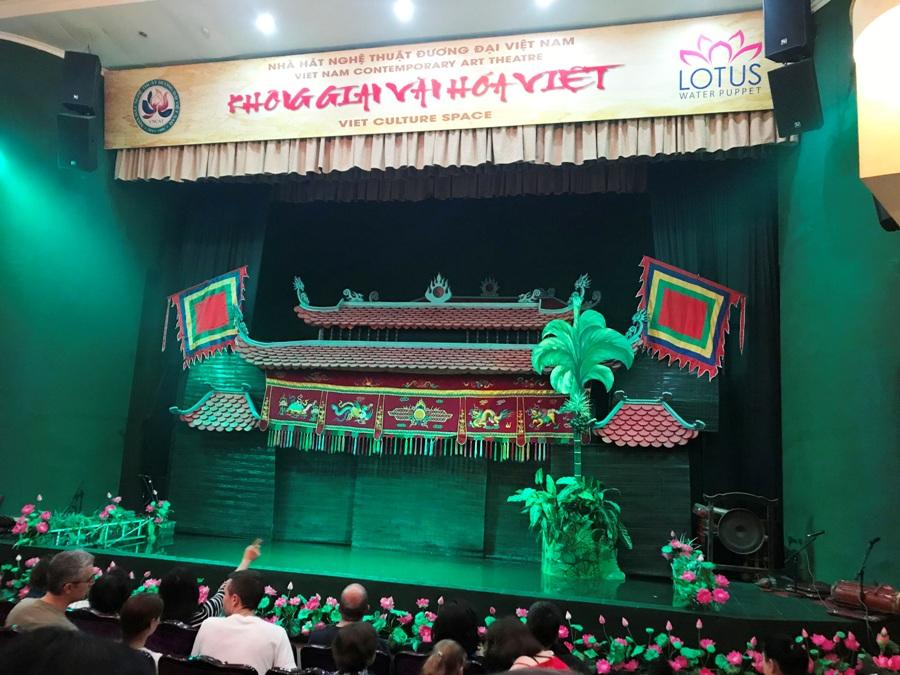 Spettacolo marionette sull'acqua - Hanoi