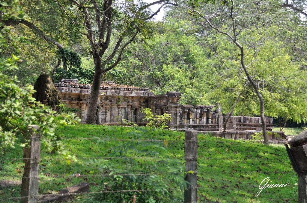 Le rovine di Polonnaruwa